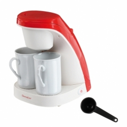 Machine à café rouge/blanc