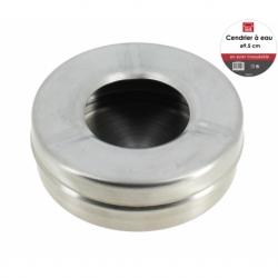 Cendrier eau 9.5 cm INOX