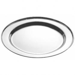 Plat ovale 40 cm INOX